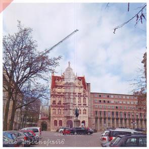 """Ansichtskarten """"Pellerhaus"""" Nürnberg - Damals-Jetzt - 1944/1957/1605"""